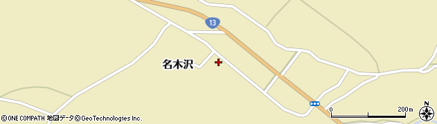 山形県尾花沢市名木沢60周辺の地図