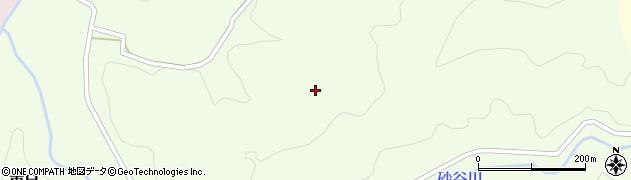 山形県鶴岡市東目(落合)周辺の地図