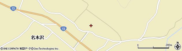 山形県尾花沢市名木沢921周辺の地図