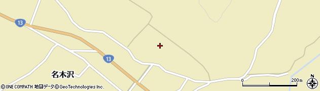 山形県尾花沢市名木沢1700周辺の地図