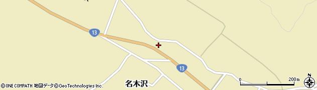 山形県尾花沢市名木沢883周辺の地図