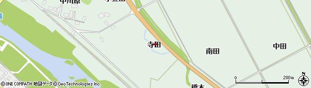 宮城県大崎市岩出山上野目(寺田)周辺の地図