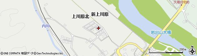 宮城県大崎市岩出山(上川原北)周辺の地図