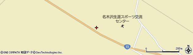 山形県尾花沢市名木沢849周辺の地図