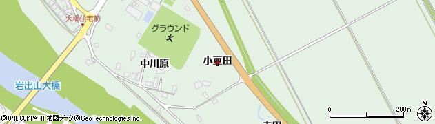 宮城県大崎市岩出山上野目(小豆田)周辺の地図