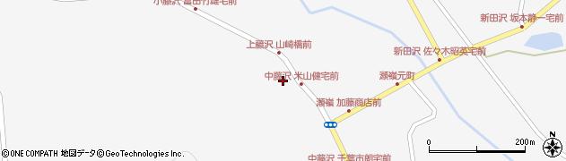 宮城県栗原市瀬峰荒神堂周辺の地図