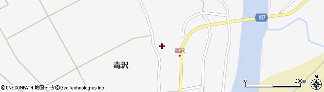 山形県尾花沢市毒沢765周辺の地図