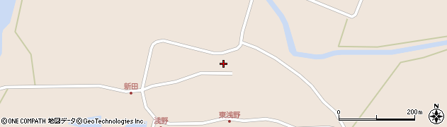 宮城県栗原市高清水新田周辺の地図