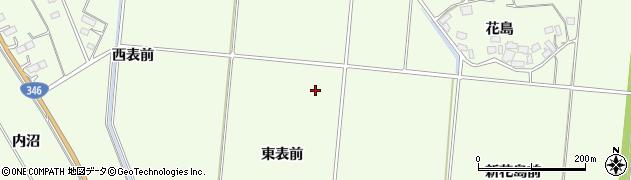 宮城県登米市迫町森周辺の地図