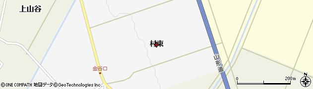 山形県鶴岡市金谷(村東)周辺の地図