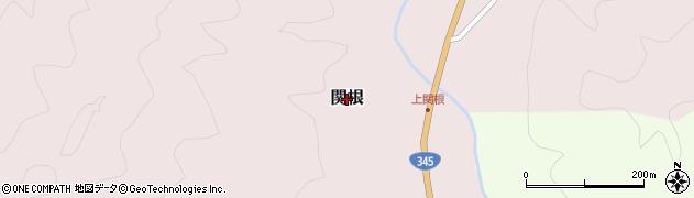山形県鶴岡市関根周辺の地図