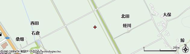 宮城県大崎市岩出山上野目(八合)周辺の地図
