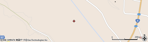 宮城県栗原市高清水熊野堂周辺の地図