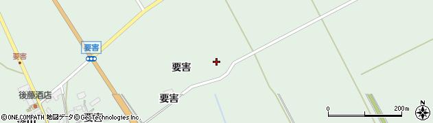 宮城県大崎市岩出山上野目(玄蕃)周辺の地図