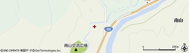 山形県最上郡大蔵村南山38周辺の地図