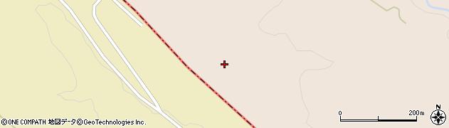 宮城県大崎市岩出山南沢(鳥屋山)周辺の地図