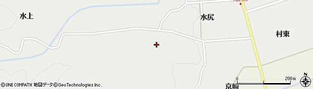 山形県鶴岡市滝沢水尻周辺の地図