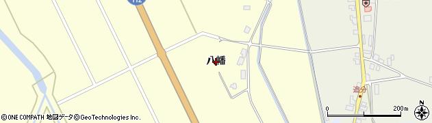 山形県鶴岡市中田(八幡)周辺の地図