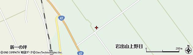宮城県大崎市岩出山上野目(新境野目)周辺の地図