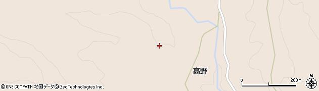 宮城県大崎市岩出山南沢(道祖神)周辺の地図