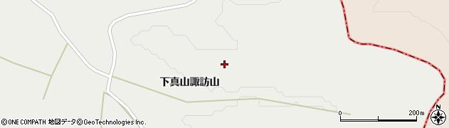 宮城県大崎市岩出山(下真山栗木沢)周辺の地図