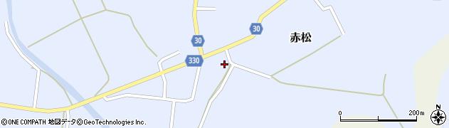 山形県最上郡大蔵村赤松656周辺の地図
