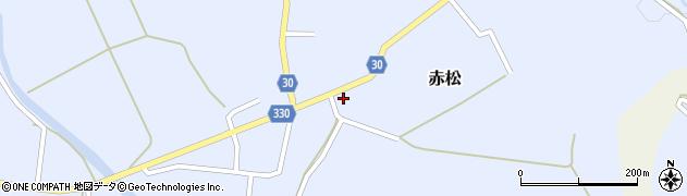 山形県最上郡大蔵村赤松658周辺の地図