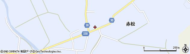 山形県最上郡大蔵村赤松663周辺の地図