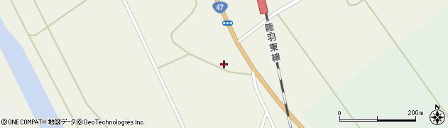 宮城県大崎市岩出山下一栗(荒脛巾)周辺の地図