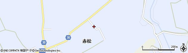 山形県最上郡大蔵村赤松1973周辺の地図