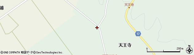 宮城県大崎市岩出山上野目(西天王寺)周辺の地図