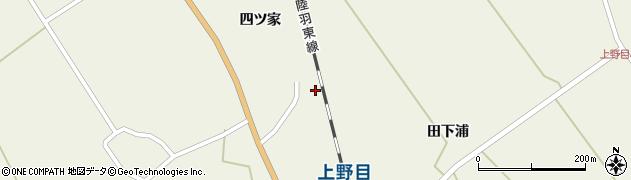 宮城県大崎市岩出山下一栗(熊野堂)周辺の地図