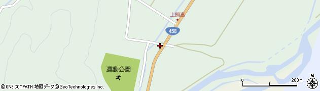 山形県最上郡大蔵村清水127周辺の地図
