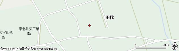 山形県鶴岡市田代(広瀬)周辺の地図