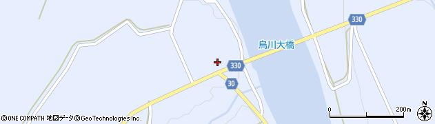 山形県最上郡大蔵村赤松901周辺の地図