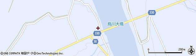 山形県最上郡大蔵村赤松965周辺の地図