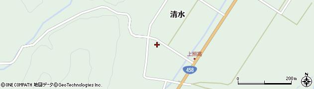 山形県最上郡大蔵村清水141周辺の地図