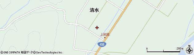 山形県最上郡大蔵村清水上熊高周辺の地図
