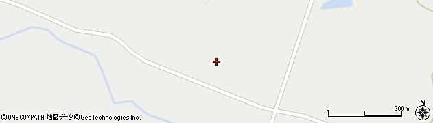 宮城県大崎市岩出山(磯田折居沢)周辺の地図