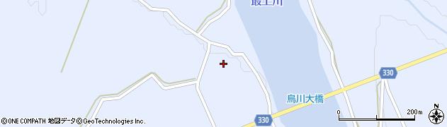 山形県最上郡大蔵村赤松1700周辺の地図