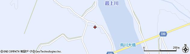 山形県最上郡大蔵村赤松996周辺の地図