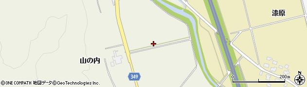 山形県鶴岡市青龍寺(川内)周辺の地図