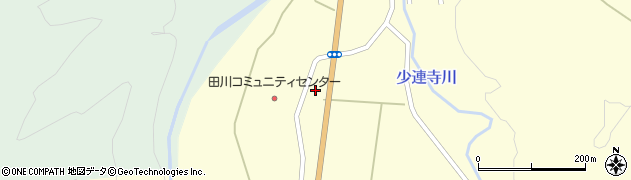 山形県鶴岡市田川(中田)周辺の地図