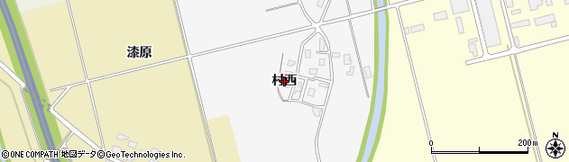 山形県鶴岡市中橋(村西)周辺の地図