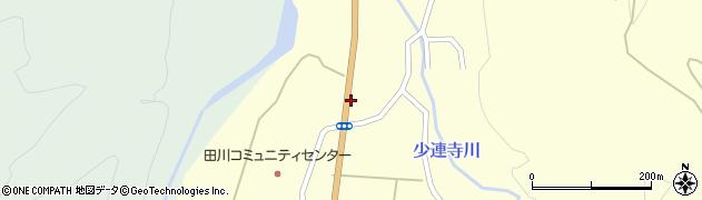 山形県鶴岡市田川(中川原)周辺の地図