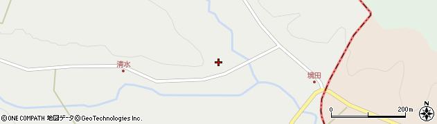 宮城県大崎市岩出山(下真山境田)周辺の地図