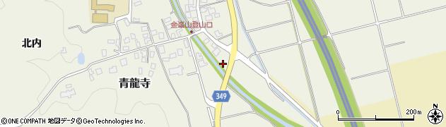 山形県鶴岡市青龍寺(村東)周辺の地図