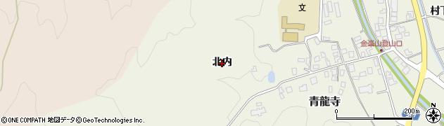 山形県鶴岡市青龍寺(北内)周辺の地図