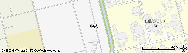 山形県鶴岡市中橋(中入)周辺の地図