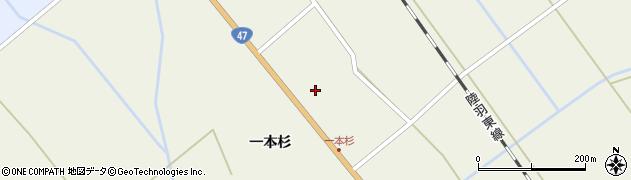 宮城県大崎市岩出山下一栗(中富田東)周辺の地図